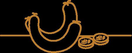 Biofleisch Blutwurst Icon